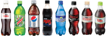 MHV Diet Soft Drinks in Bottles
