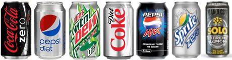 MHV Diet Soft Drinks